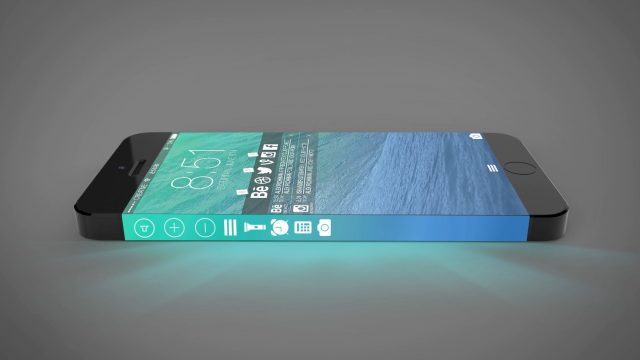 iphone 8 concept 3d display