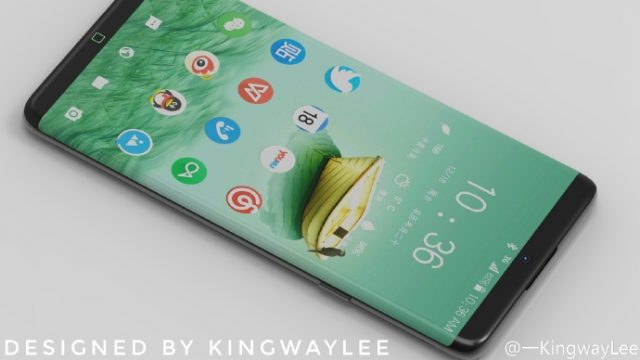 Samsung Galaxy S8  Edge корпус