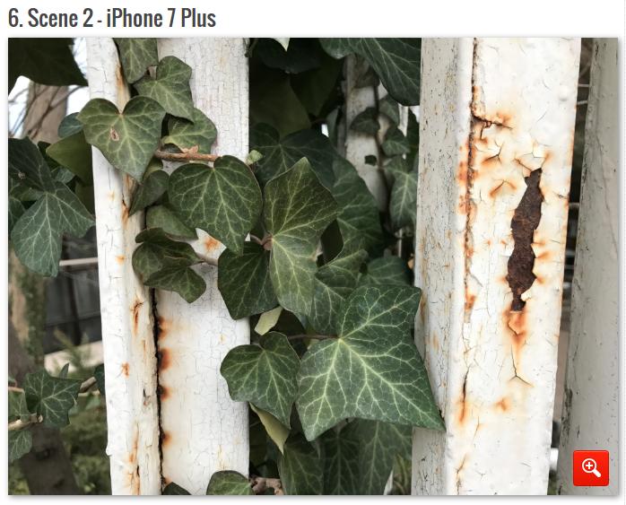 сравнение камер смартфонов Plus iPhone
