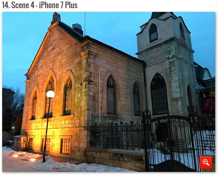 сравнение камер лучших смартфонов iPhone 7 PLus