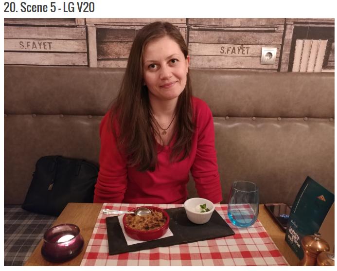 Сравнение камер флагманов LG V20