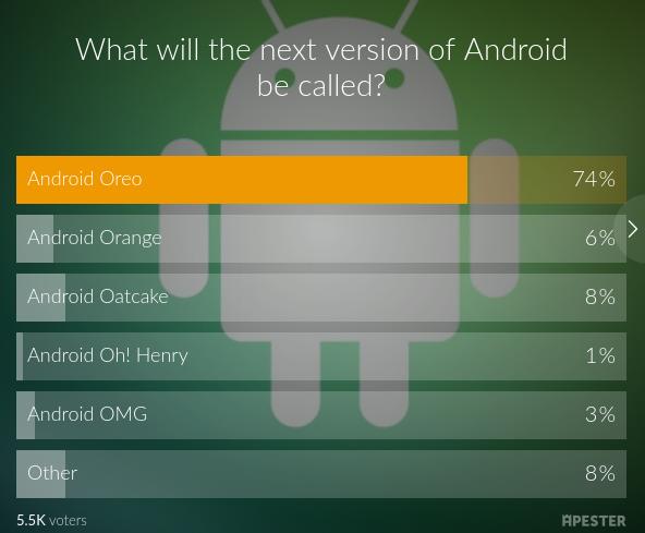 android 8 название