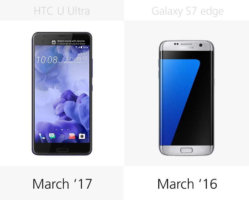 samsung s7 или HTC U Ultra: дата выхода