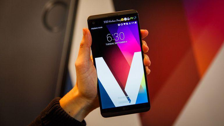 смартфон с аудиочипом LG V20