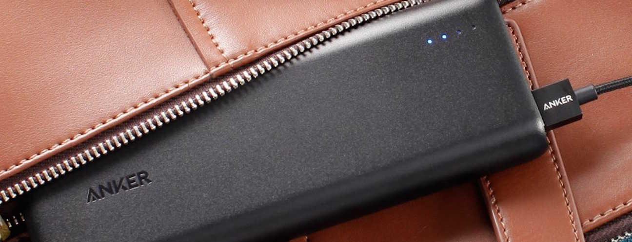 портативное зарядное устройство для смартфона