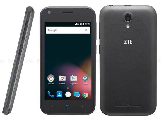 ZTE Blade L110 смартфон с отдельным слотом для карты памяти