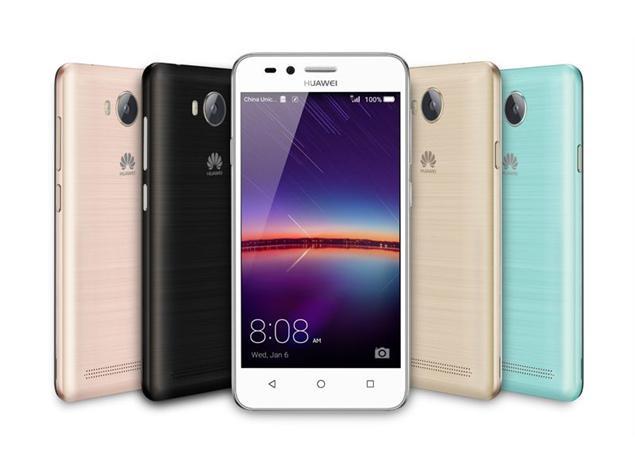 Huawei Y3 II смартфоны 2 сим слот для карт памяти