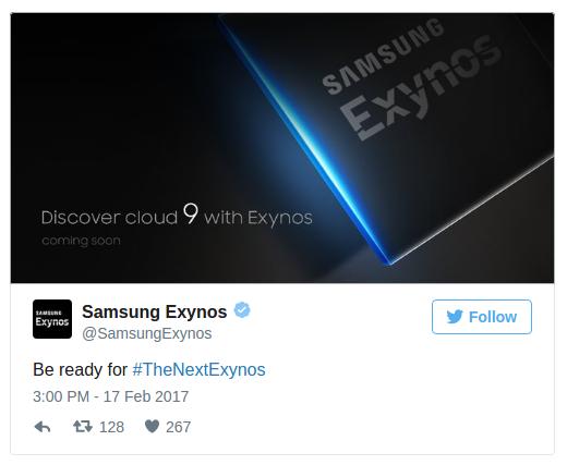 новый Galaxy S8 процессор