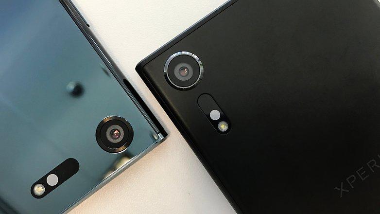камера Sony XZ Premium и XZs