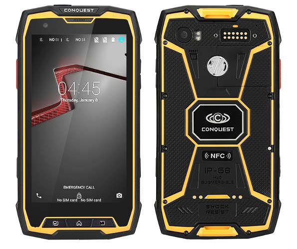 противоударный смартфон с мощным аккумулятором