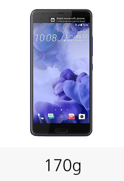 HTC U Ultra характеристики вес