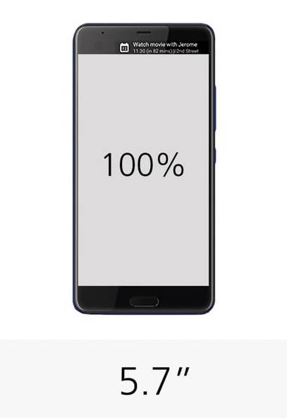 HTC U Ultra дисплей