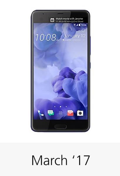 смартфон HTC U Ultra дата выхода