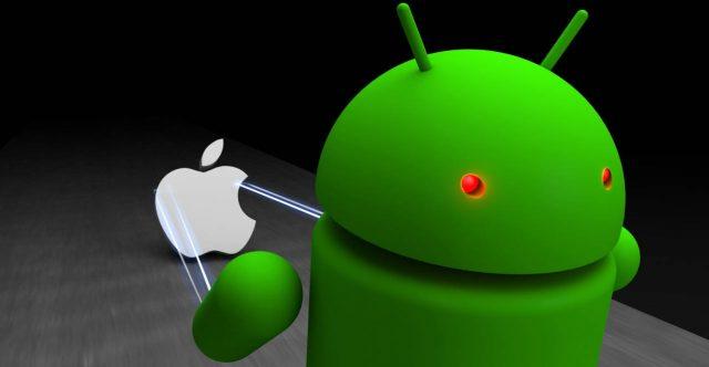 доля рынка android и ios