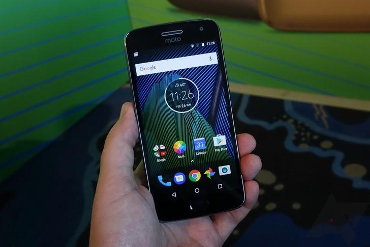 Moto G5 видео обзор