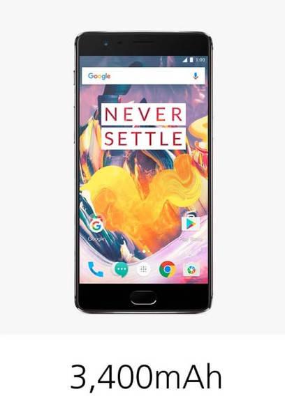 OnePlus 3T батарея