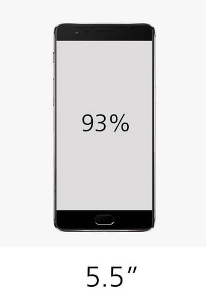 OnePlus 3T характеристики дисплея