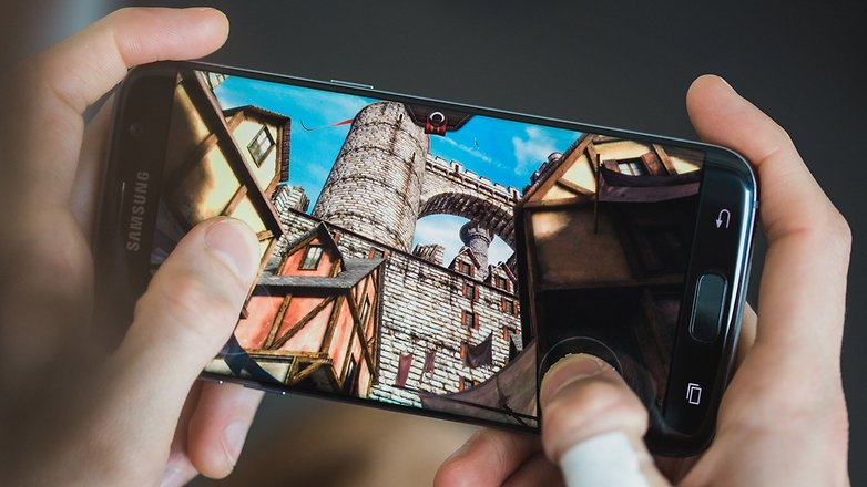 самый лучший смартфон для игр - galaxy s7