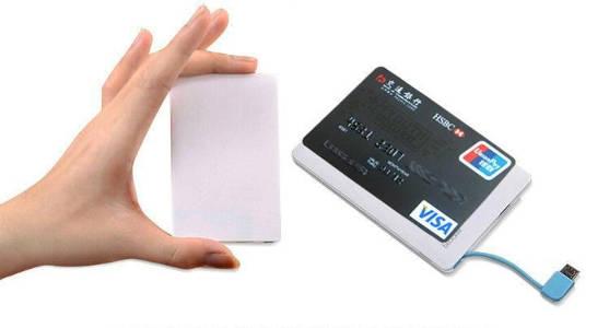 портативный аккумулятор для смартфона travelcard