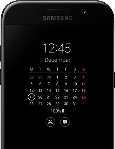 AOD samsung Galaxy A5 2017