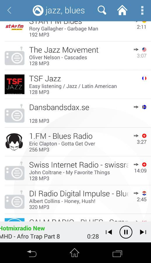интернет радио для андроид