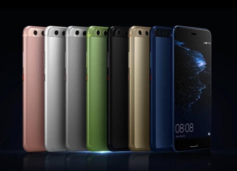 Huawei P10 цвета