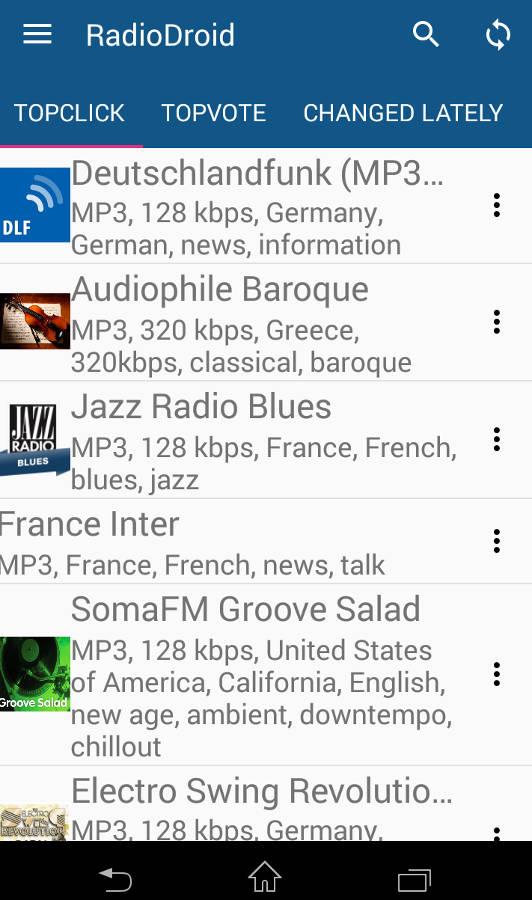 бесплатное интернет радио для андроид