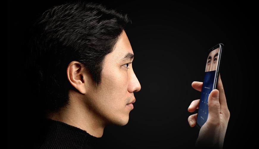 Сканер радужки Galaxy S8