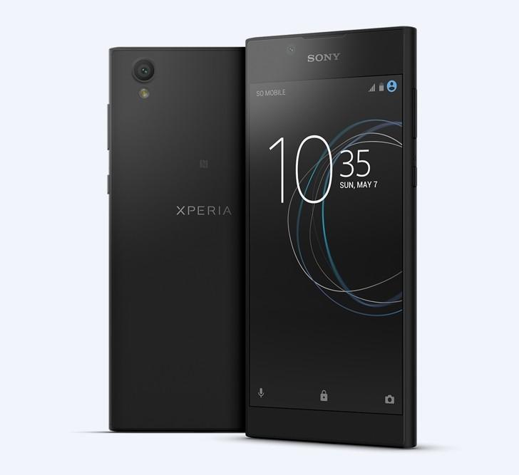 Sony Xperia L1 характеристики дисплея