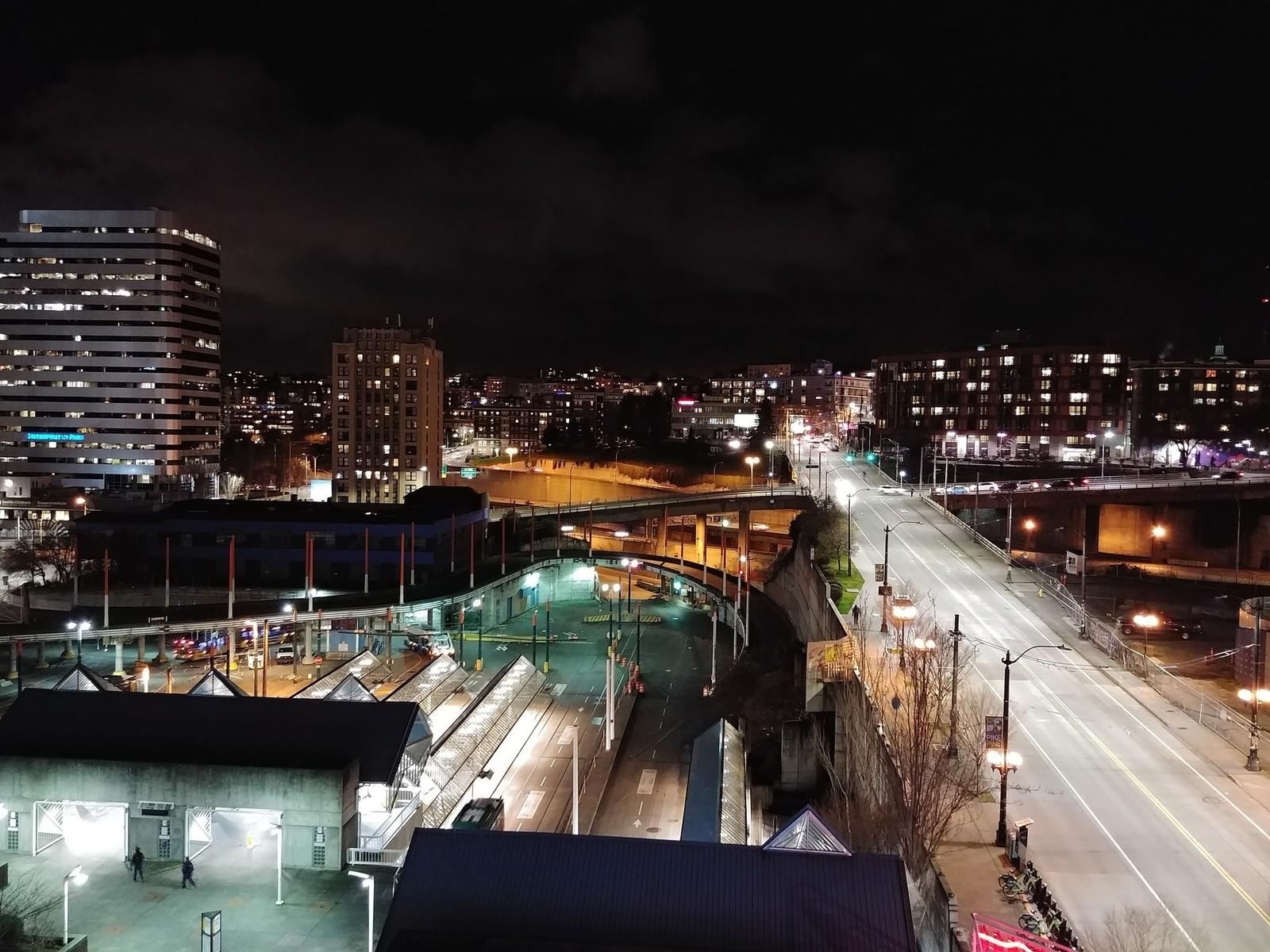камера LG G6 ночь