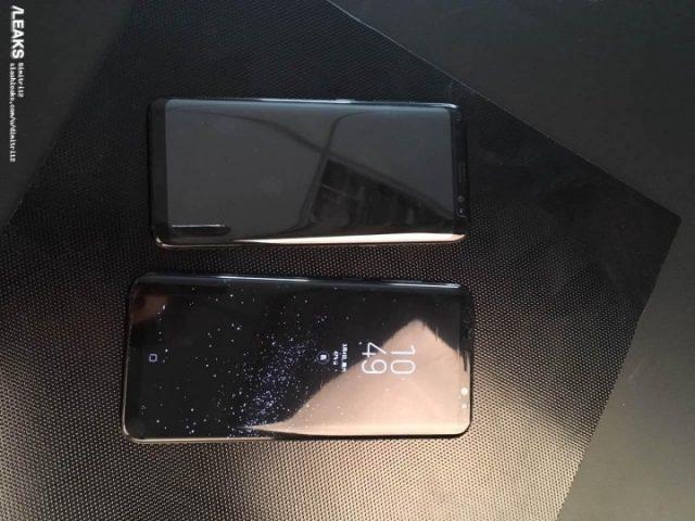 Galaxy S8 живые фото 1