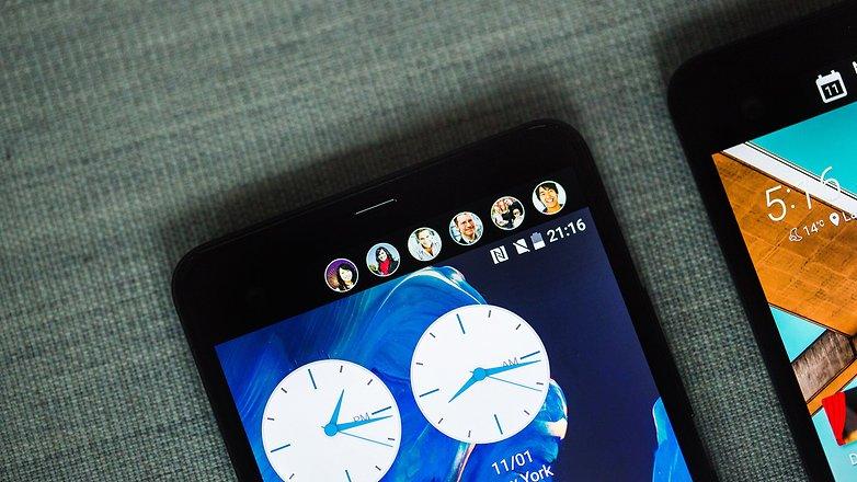 HTC U Ultra дисплей always on