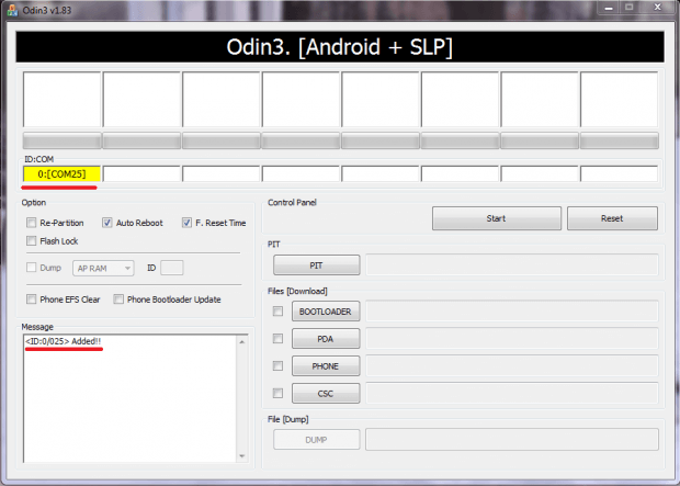 odin Android