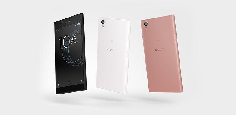 Sony Xperia L1 цветовая гамма