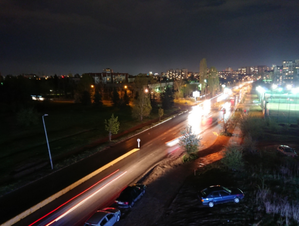 Камера Sony Xperia XZs ночная съемка
