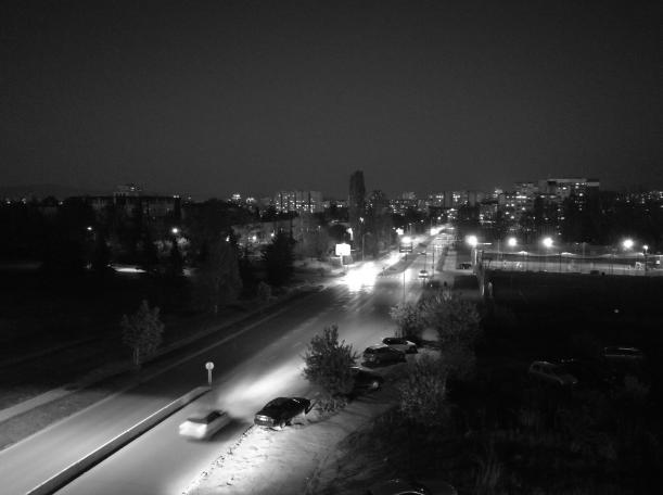 honor 8 pro камера ночная съемка чб
