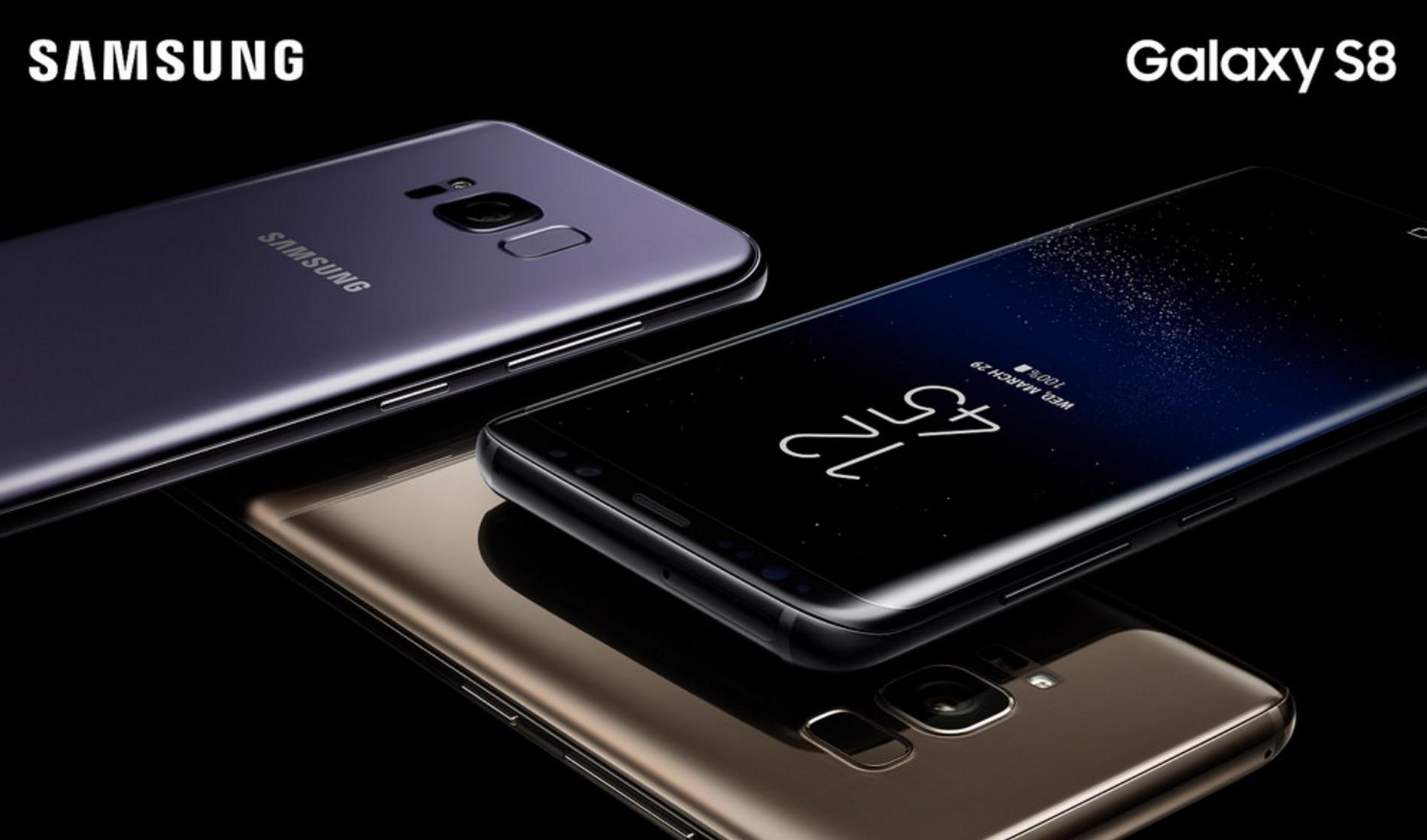 galaxy S8+ обзор
