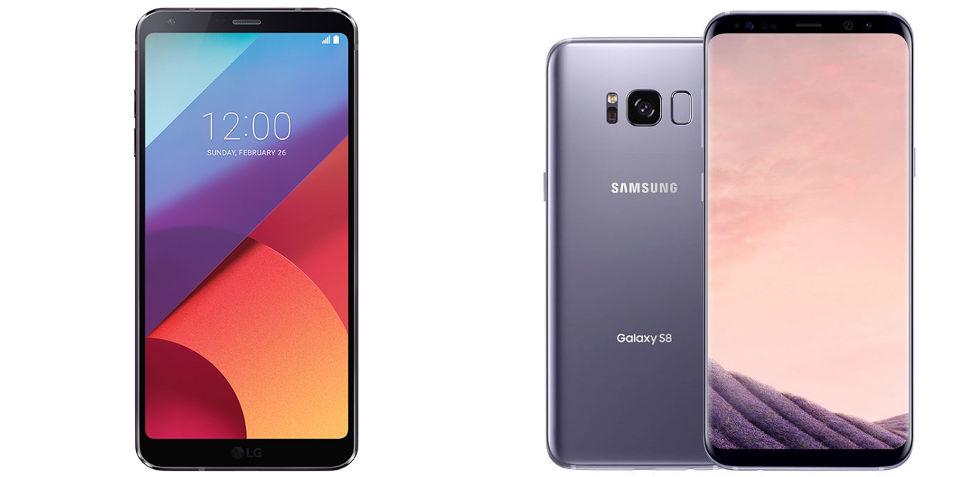 Galaxy S8 или LG G6: сравнение