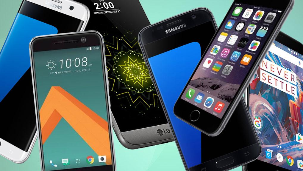 Смартфоны-флагманы 2016-2017: сравнение в бенчмарках