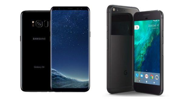 Google Pixel или Galaxy S8: сравнение и голосование