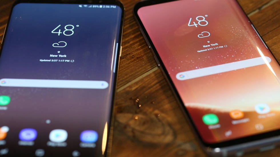Samsung Galaxy S8+: тесты экрана и батареи