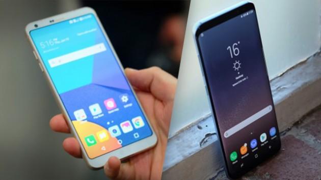 обзор Galaxy S8 с LG G6