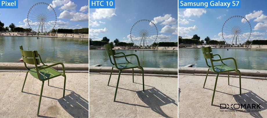 тест камеры Google Pixel цветопередача