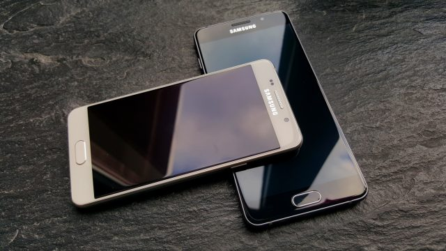 galaxy A5 2016 Android nougat