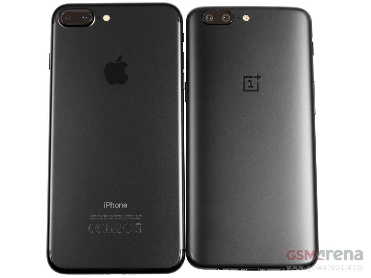 обзор OnePlus 5 сходство с iPhone 7