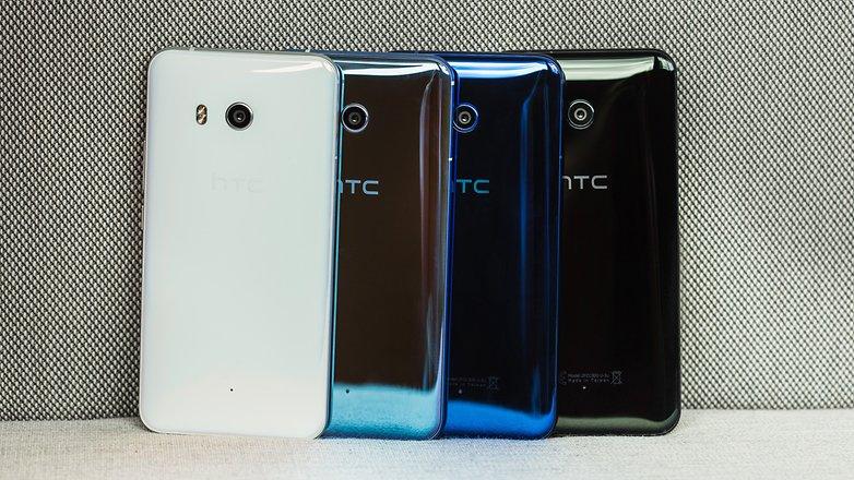 HTC U11 цвета корпуса