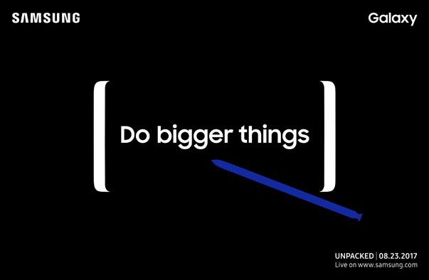 анонс Galaxy Note 8