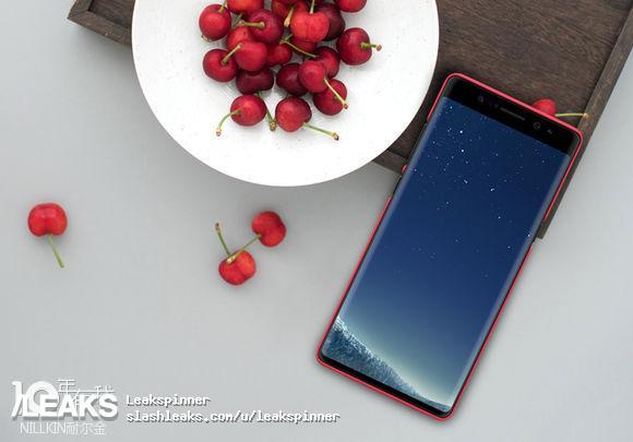 Galaxy Note 8 дизайн