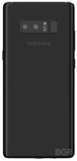 Samsung Galaxy Note 8 камера