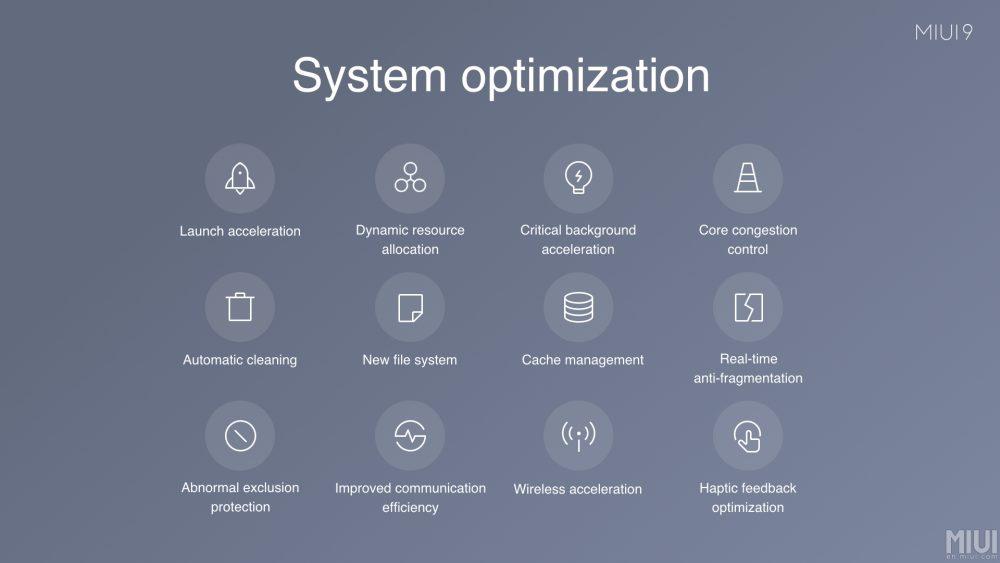 MIUI 9 оптимизация быстродействия